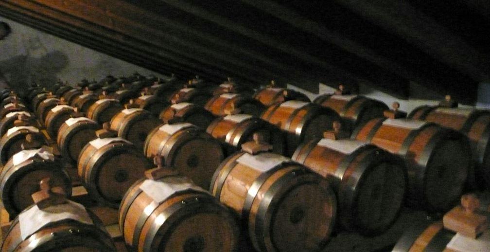 Tenuta degli Angeli, chai de vieillissement du vinaigre balsamique