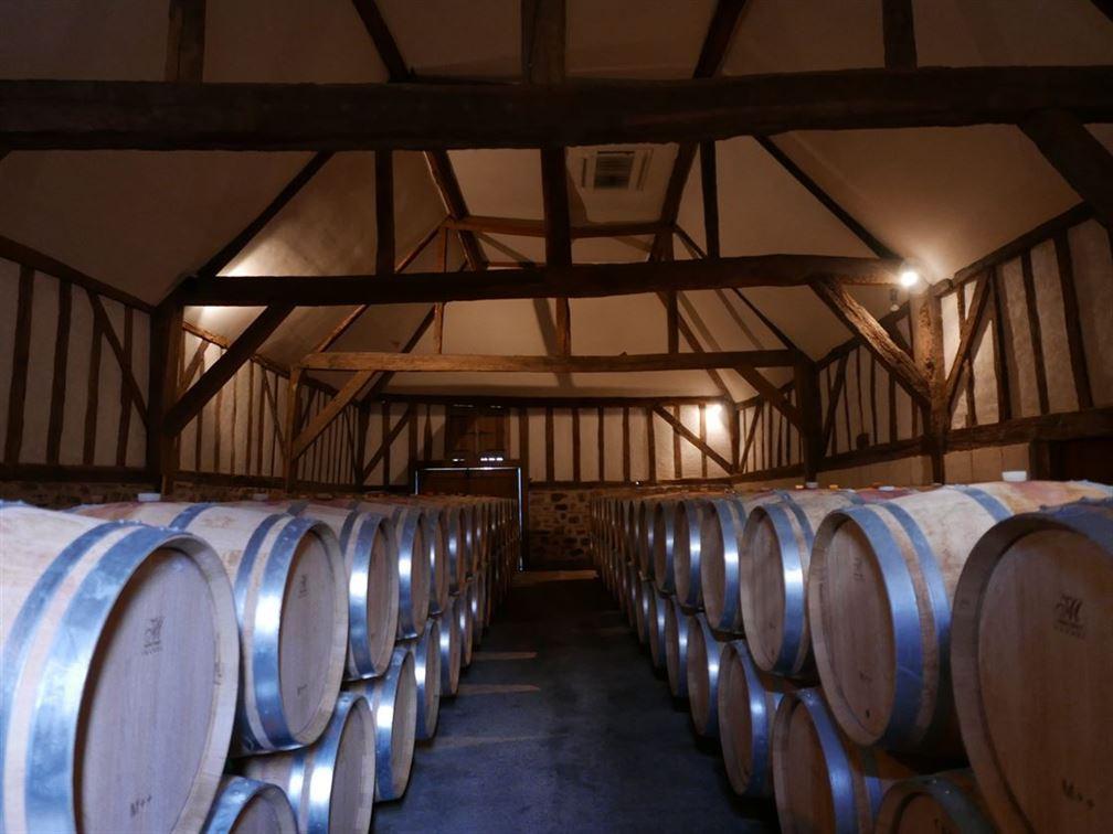 Chai du XVe à vins rouges
