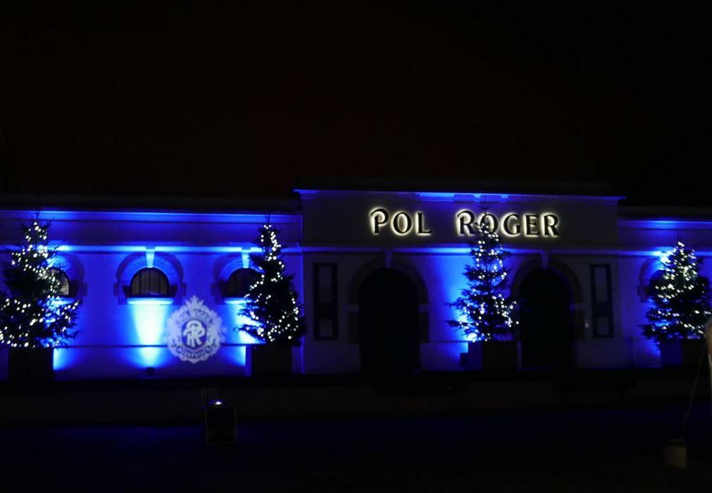 Maison Pol Roger sur Avenue de Champagne, Epernay
