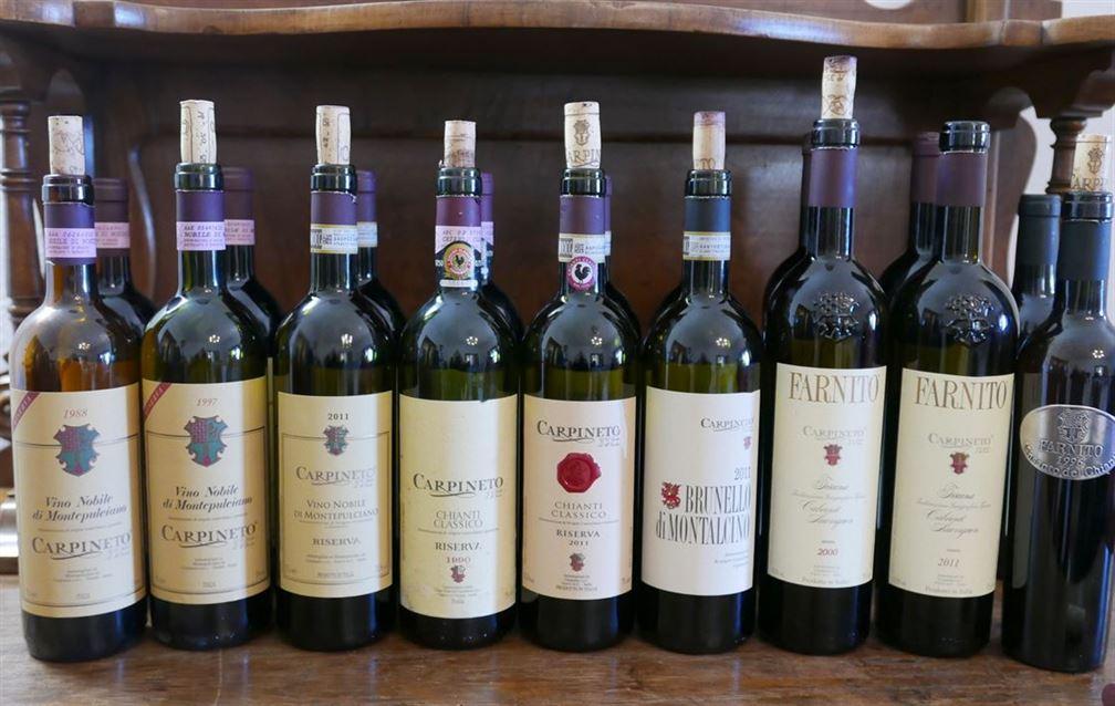 Carpineto, collection complète